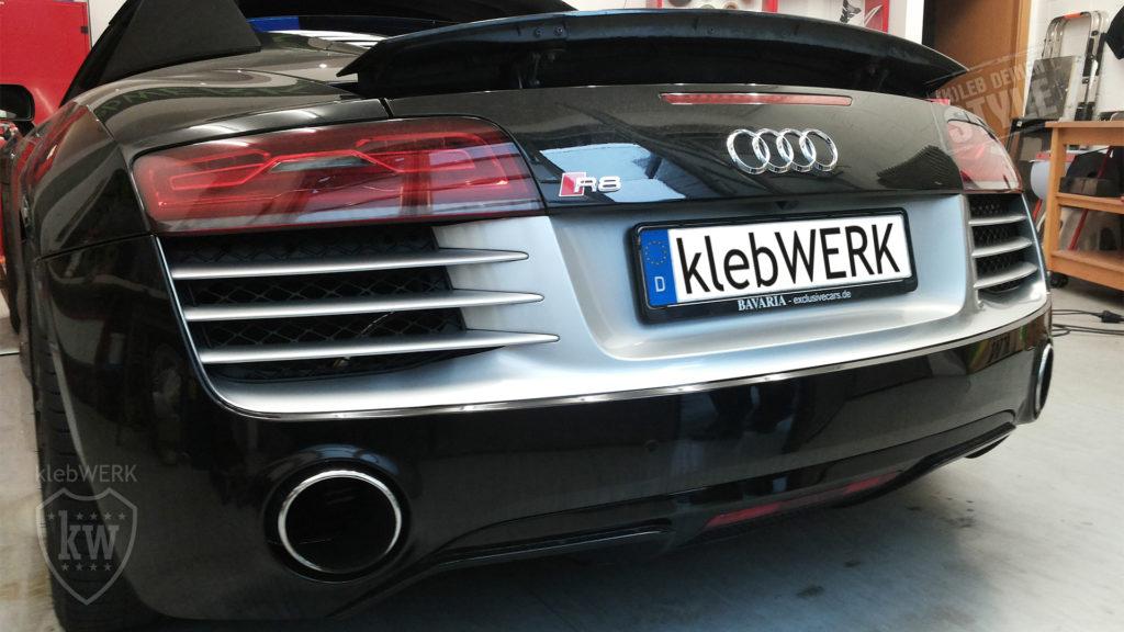 Heckfolierung Audi R8
