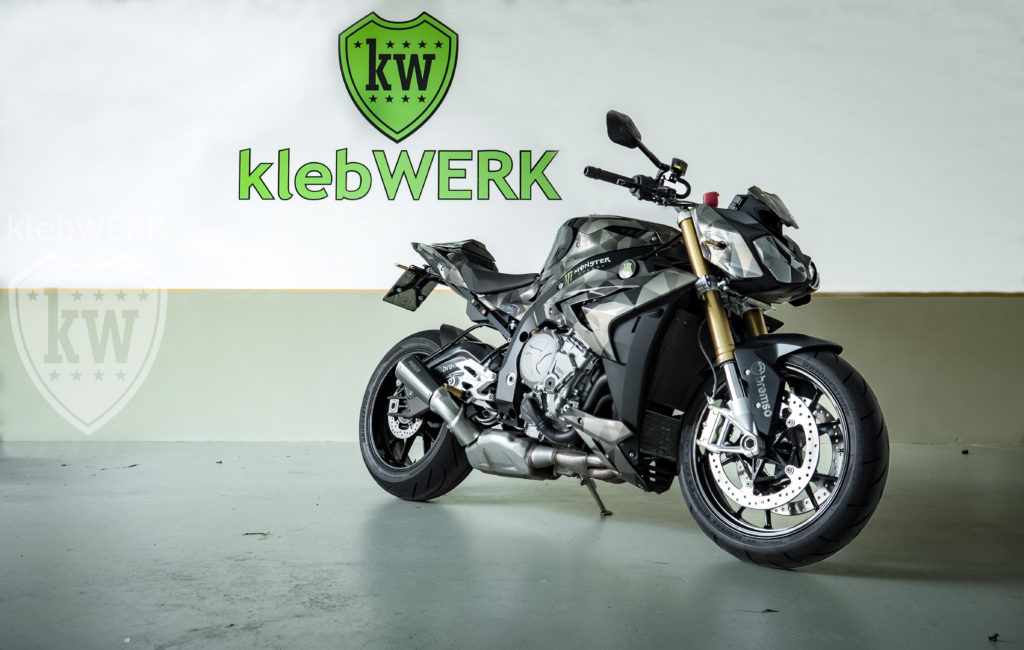 Vollfolierung Motorrad