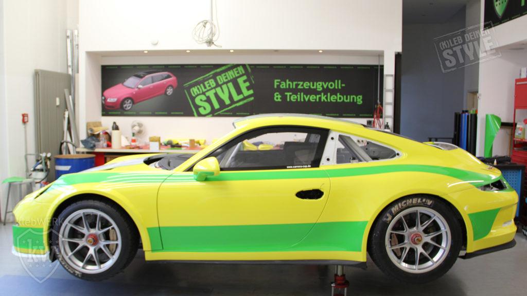 Vollfolierung Porsche 911